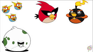 angry birds coloring pages learning colors angry birds