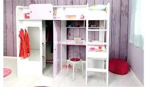 sous bureau fille bureau pour lit mezzanine mezzanine avec bureau lit bureau fille
