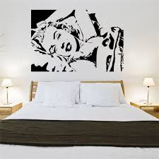 chambre marilyn diy classique marilyn wall sticker vinyle