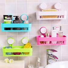 Storage Boxes Bathroom Plastic Bathroom Shelf Kitchen Storage Box Organizer Basket With