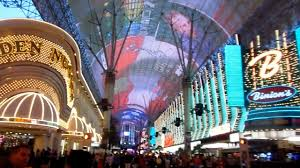 Las Vegas Fremont Street Map by Fremont Street Experience Light Show At Old Las Vegas Dance