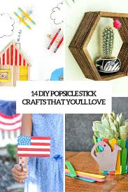 14 diy cool popsicle sticks crafts you u0027ll love shelterness