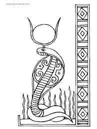 imagenes egipcias para imprimir dibujos egipcios para colorear buscar con google