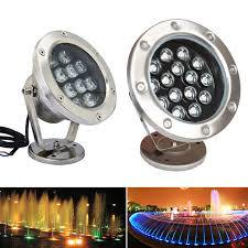 color changing led fish tank lights dmx512 single color rgb color changing ip68 waterproof rgb led