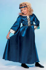 Maid Marian Halloween Costume Child Medieval Costumes Renaissance Queen Princess Maid Marion