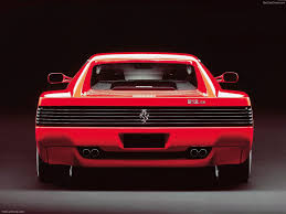 ferrari coupe rear ferrari 512 tr 1991 picture 3 of 3