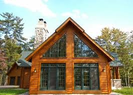 chalet style house chalet style hybrid log home dickinson homes architecture plans