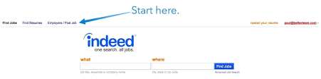 Search Resumes On Indeed Indeed Job Posting How To Post On Indeed Cost Info Faqs