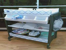 Change Table With Bath Baby Change Table With Bath And Storage White Recomy Tables