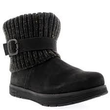 skechers womens boots uk womens skechers adorbs mid calf winter warm suede knitted casual