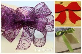 decorative bows decorative bow ideas thriftyfun