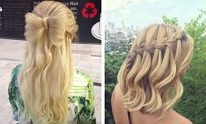 printable pictures of hairstyles 31 half up half down prom hairstyles stayglam