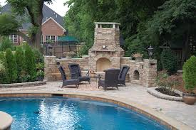 Outdoor Fireplaces Pictures by Firerock Firerock Fireplaces Stone Center Of Va Www