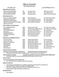 28 Awards On Resume Example by Stage Management Resume Best Resume For You