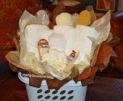 wedding gift towels diy wedding gift basket using a square laundry basket and the