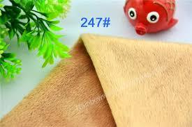 drap canap 247 kaki microfibre minky doux velboa tricot tissu pour coudre