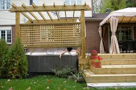 Ideas For Backyard Privacy Great Privacy Screen Ideas For Backyard Garden Design Garden