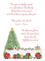christmas tea party christmas tea party invitations by adele