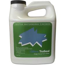glitsa waterborne glitsa truseal wood floor sealer 270075 00 1