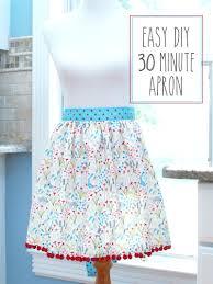 30 minute apron tutorial