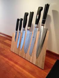 cool knife block pott knife block color walnut wood by sarah wiener kitchen