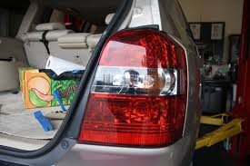how to replace tail light bulb change the tail light bulbs on a 2000 2007 toyota highlander