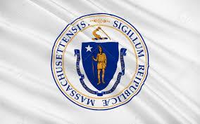 Mass State Flag Flag Of Massachusetts Officially The Commonwealth Of Massachusetts