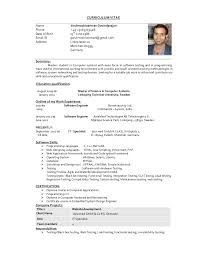 Example Of Chronological Resume by Arul Cv