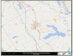 Dallas County Map Dallas To Houston High Speed Rail Environmental Impact Statement
