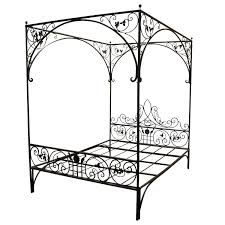 Wrought Iron Canopy Bed Iron Canopy Bed Queen Wrought Iron Canopy Bed Frames Black