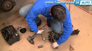 nissan altima 2005 struts how to replace rusted worn upper strut mount and bearing 2000 08