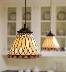 Changing Recessed Lighting To Pendant Lighting Replace Any Recessed Light With This In Stained Glass