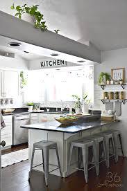 White Kitchen Decorating Ideas Photos White Kitchen Pink Kitchen Decor The 36th Avenue