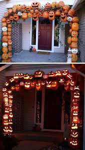 at home halloween decorations image of creative outdoor halloween