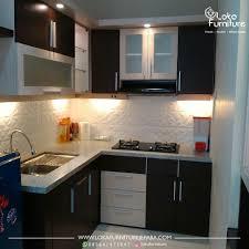 design kitchen set minimalis modern desain kitchen set minimalis dapur kecil loka furniture