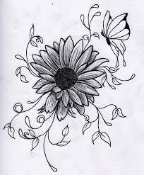 flower drawings google search tattoo ideas pinterest