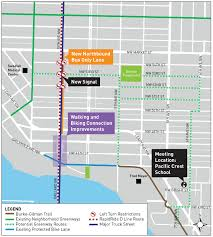 Seattle Bus Routes Map by Seattle Department Of Transportation Ballard Neighborhood Greenway