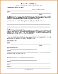 Forms For Power Of Attorney by 9 Medical Durable Power Of Attorney Form Attorney Letterheads