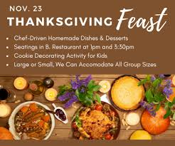 thanksgiving feast on november 23 tickets oak brook eventbrite