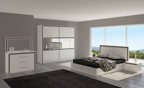 chambre moderne blanche chambre a coucher adulte design élégant awesome chambre moderne