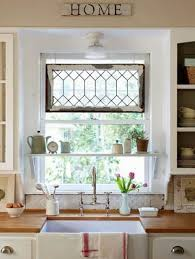 kitchen window decorating ideas 8 ways to dress up the kitchen window without using a curtain