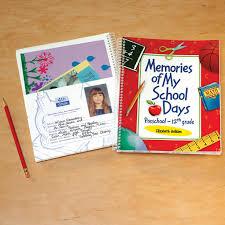 school days keepsake album personalized school days book school days book kimball