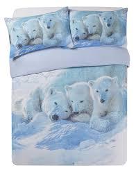 collection polar bears bedding set double times 8 00