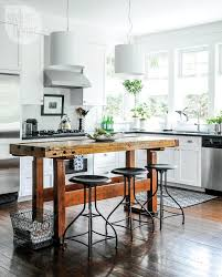narrow kitchen island kitchen island small cart on wheels narrow table ideas