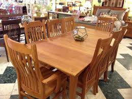 Mission Dining Room Chairs by Solid Cherry