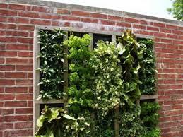 garden design with bricks