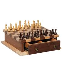 Chess Table by Chess And Checkerboard Set Amish Direct Furniture