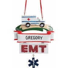personalized emt ornament walmart
