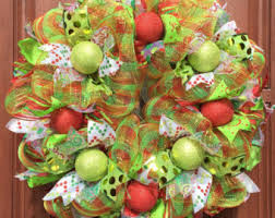 deco mesh wreaths for any occasion by whatsonyourdoor on etsy