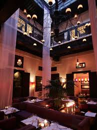 the den at dining in stylish dining den in the medina le foundouk restaurant